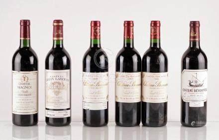 Sélection de Vins de Bordeaux - 6 bouteilles