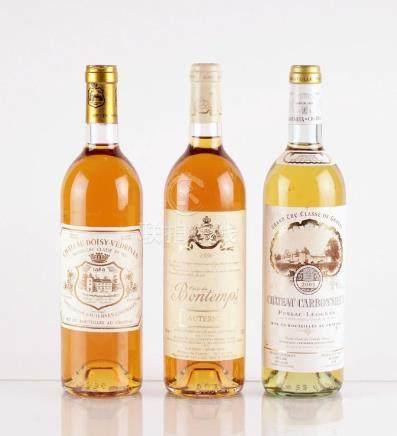 Sélection de Vins Blancs de Bordeaux - 3 bouteilles