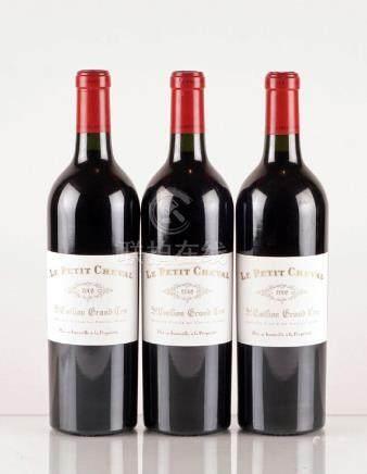 Le Petit Cheval 2008 - 3 bouteilles