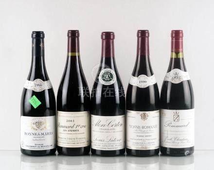 Sélection de Vins de Bourgogne - 5 bouteilles