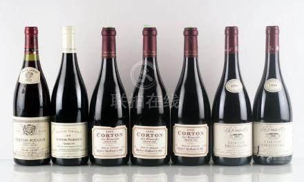 Sélection de Vins de Corton - 7 bouteilles