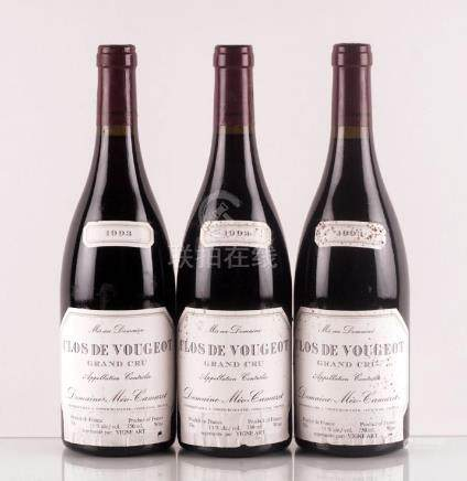 Clos de Vougeot Grand Cru 1993, Méo-Camuzet - 3
