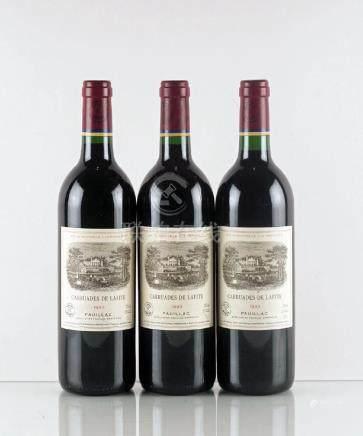 Carruades de Lafite 1993 - 3 bouteilles