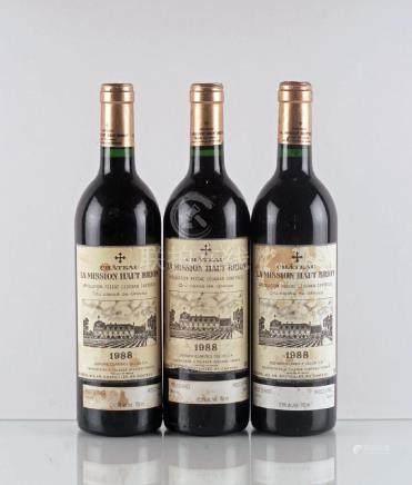 Château La Mission Haut Brion 1988 - 3 bouteilles