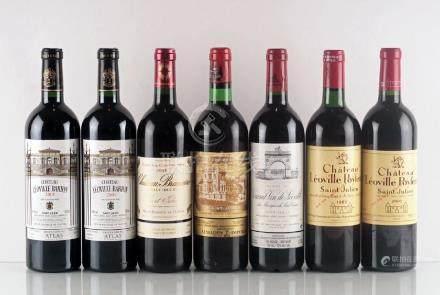 Sélection de Vins de Saint-Julien - 7 bouteilles