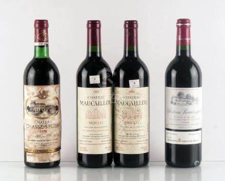 Château Chasse-Spleen 1978, Maucaillou 1992 &
