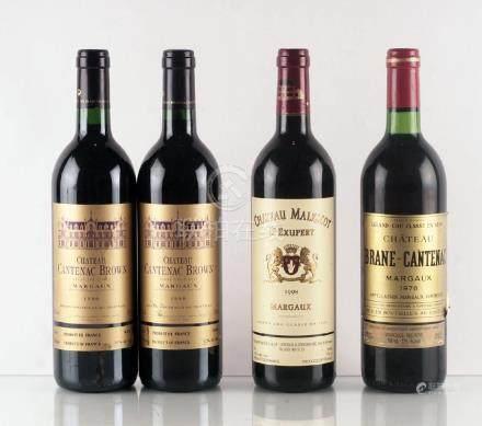 Sélection de Vins de Margaux - 4 bouteilles