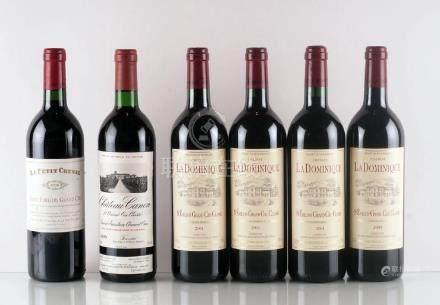 Sélection de Vins de Saint-Émilion - 6 bouteilles