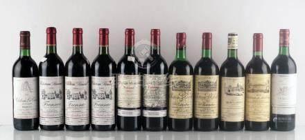 Sélection de Vins de Bordeaux - 11 bouteilles