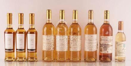 Sélection de Vins Liquoreux - 9 bouteilles