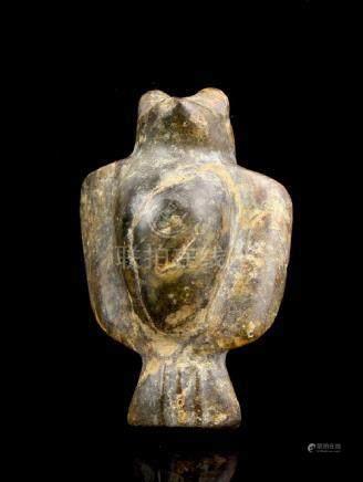 Hongshan Jade: Pregnant Bird