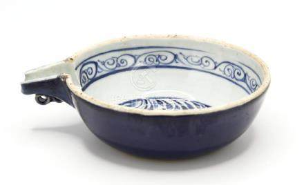Blue and White Pouring Bowl