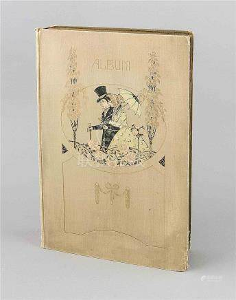 Sammelalbum mit 496 Ansichts-, Gruß- & Postkarten, 1. V. 20.