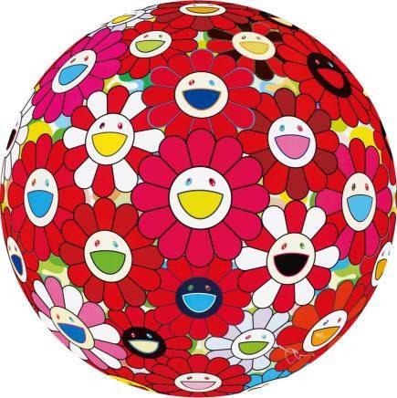 村上隆-花球