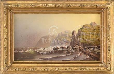 "MONOGRAMMED ""S J S"" (American, 19th/20th century) GRAND MANA"