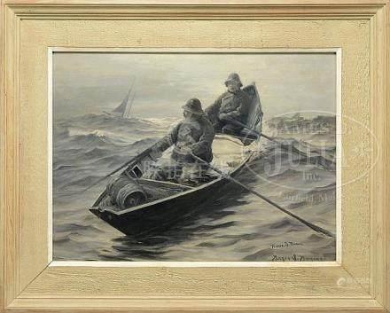 "PARKER S. PERKINS (American, 1862 - 1942), ""GLOUCESTER DORYM"