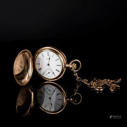 Antique 18kt Gold Pocket Watch