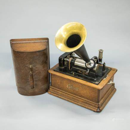 1850-1900 Antique Edison Cylinder Player