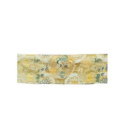 Japanese Antique Silk Embroidered Textile