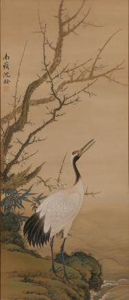 CHINESE SCROLL PAINTING, SHEN QUAN
