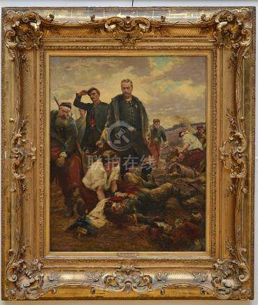 Moreau de Tours (1888): painting (o/c) 'Sebastopol' (82x102c
