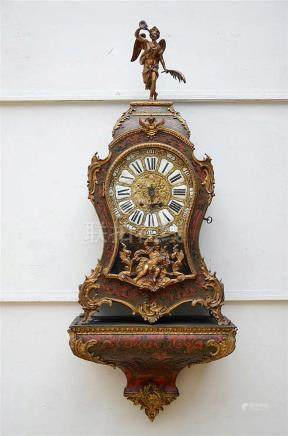 A Napoleon III clock with Boulle inlaywork (*) (101cm)