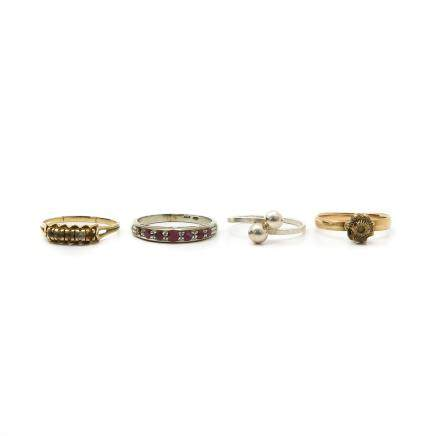 Diverse Lot of Rings