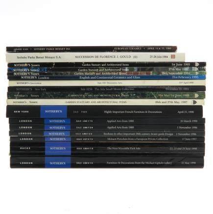 Diverse Lot of 17 Auction Catalogs