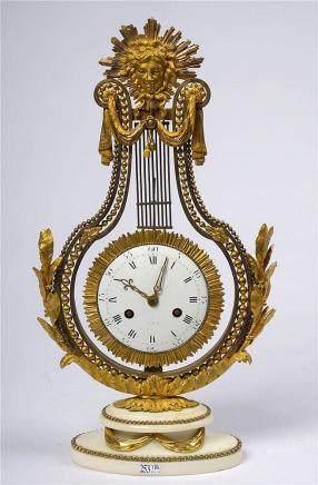 FURET Jean-Baptiste-André (1720 - 1807) - Pendule lyre de st