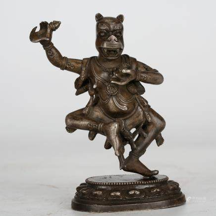 CHINESE BRONZE FIGURINE