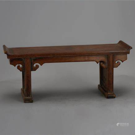 CHINESE HUANGHUALI WOOD TABLE STAND