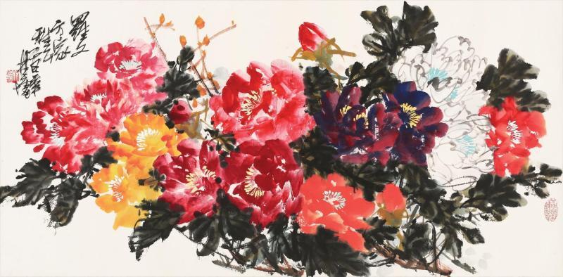 林墉-花团锦簇