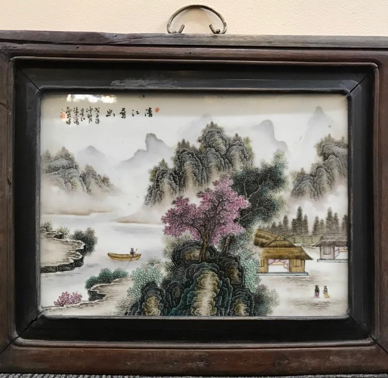 张志汤瓷板画