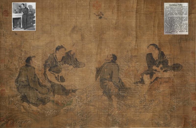 仙人渡海图