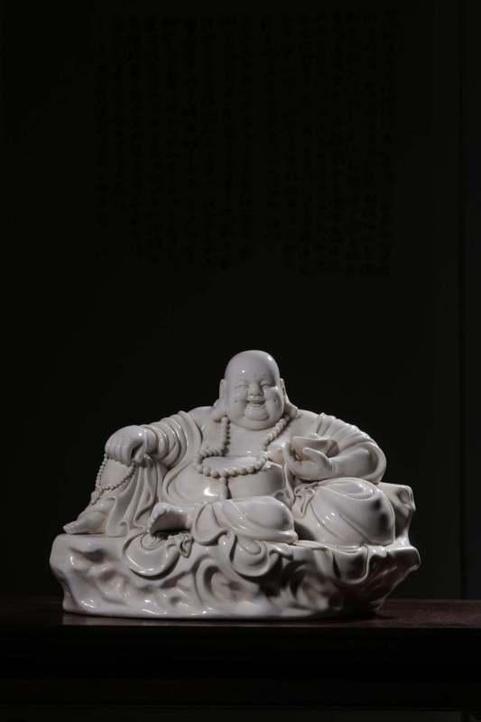 德化弥勒佛像